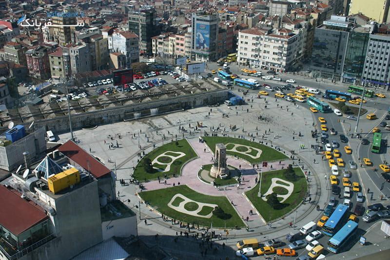 میدان های استانبول