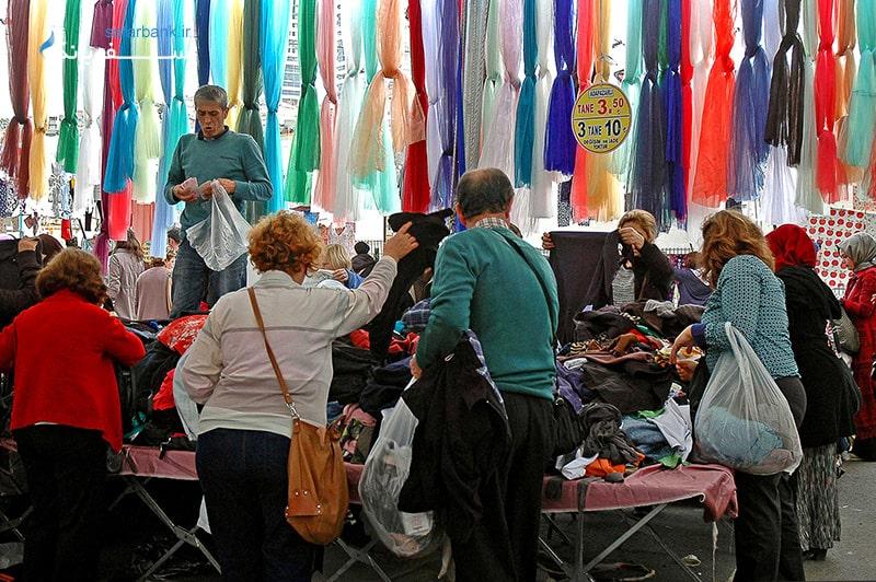 جمعه بازار استانبول در ترکیه