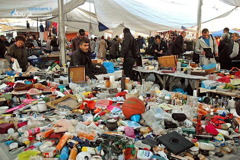 سه شنبه و جمعه بازار ترکیه در خیابان کادیکوی استانبول