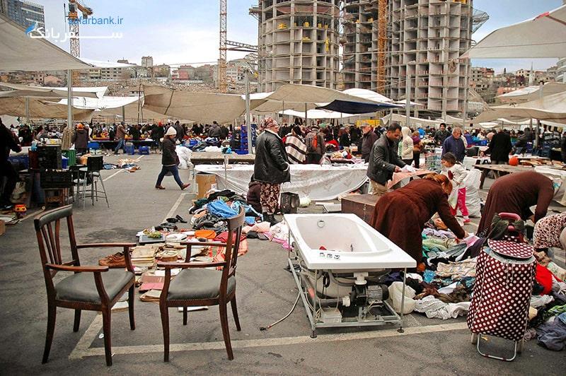 جمعه بازار استانبول در تور ترکیه