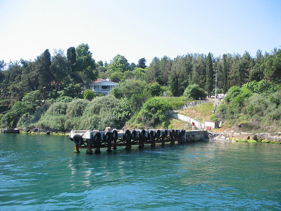 جزیره صدف از جزایر پرنس استانبول