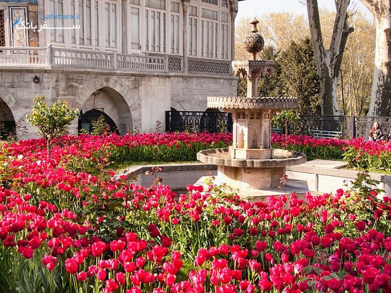 دروازه کاخ توپکاپی سلطان سلیمان
