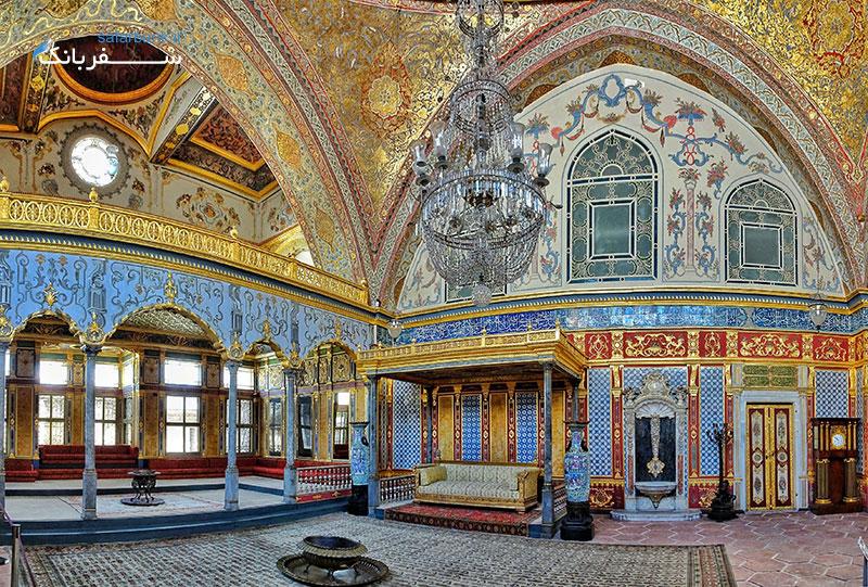 کارت موزه استانبول و بازدید از کاخ توپکاپی