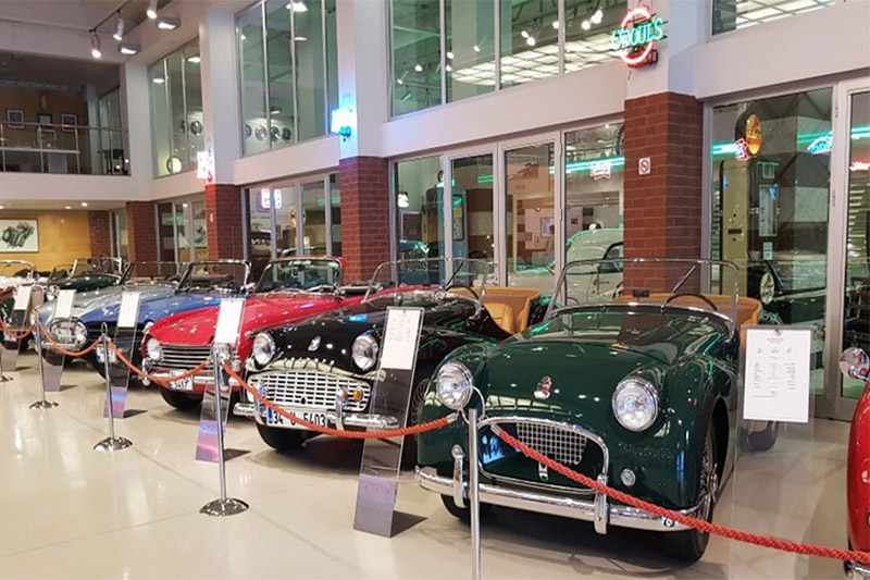 موزه ماشین های کلاسیک از اماکن و جاهای دیدنی استانبول ترکیه
