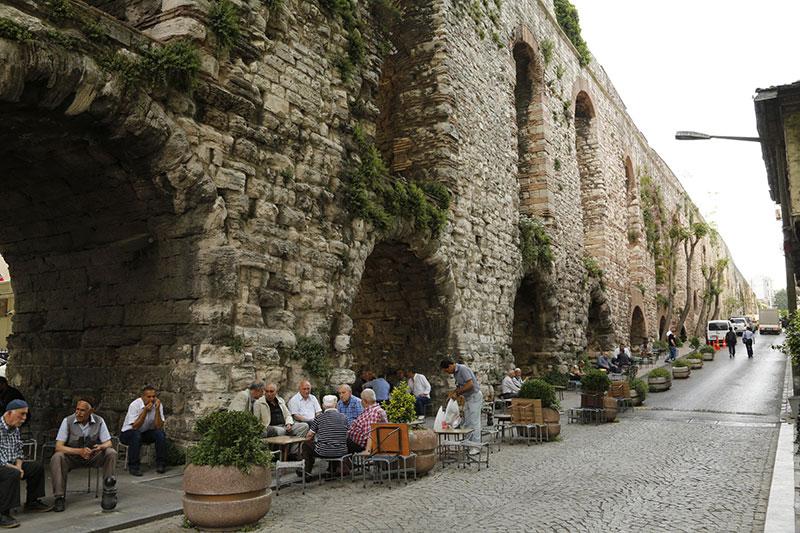 آبراهه والنس از جاهای دیدنی استانبول
