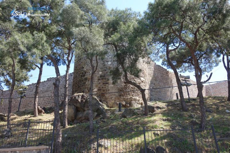 کادیفه کاله از قلعه های ترکیه و اماکن دیدنی ازمیر