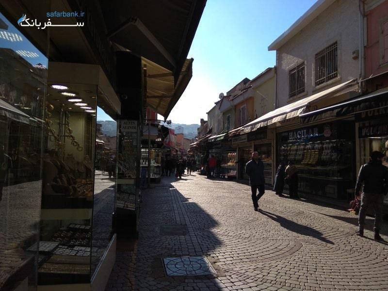 بازارهای سنتی ترکیه، بازار کمرالتی در شهر ازمیر