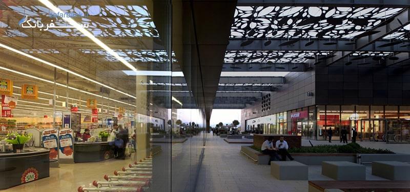 مرکز خرید اسماکاتی در شهر ازمیر ترکیه