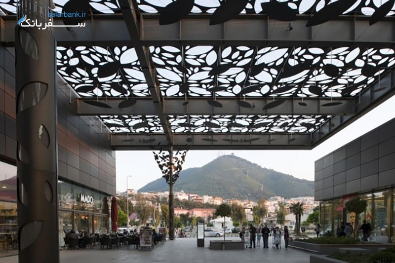 مرکز خرید آسماکاتی، مجتمعی بین کوه و دریا و جاده