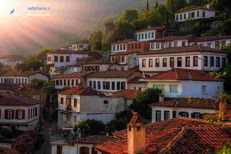 روستای شیرینجه از جاهای دیدنی ازمیر ترکیه