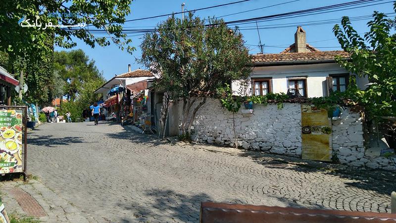 روستای شرینجه از جاذبه های توریستی ازمیر ترکیه