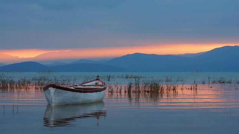 دریاچه بی شهیر در شهر قونیه ترکیه