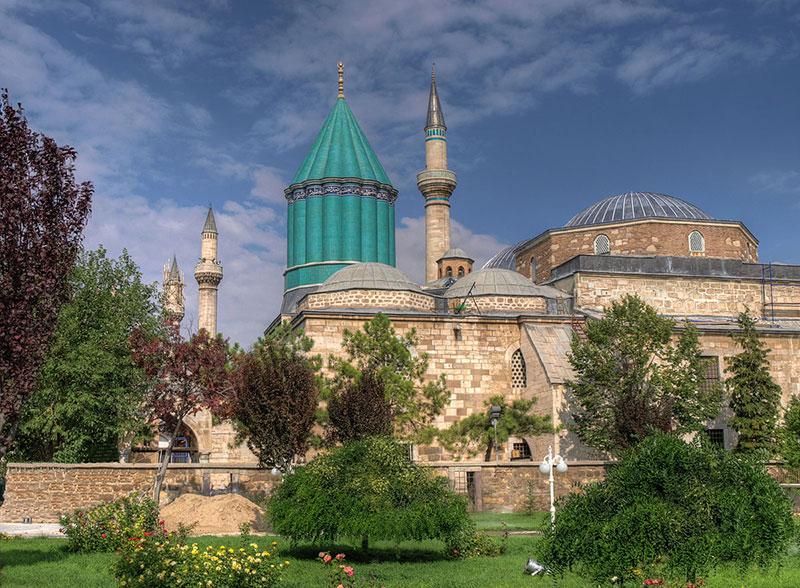 موزه مولانا از جاهای دیدنی قونیه در ترکیه