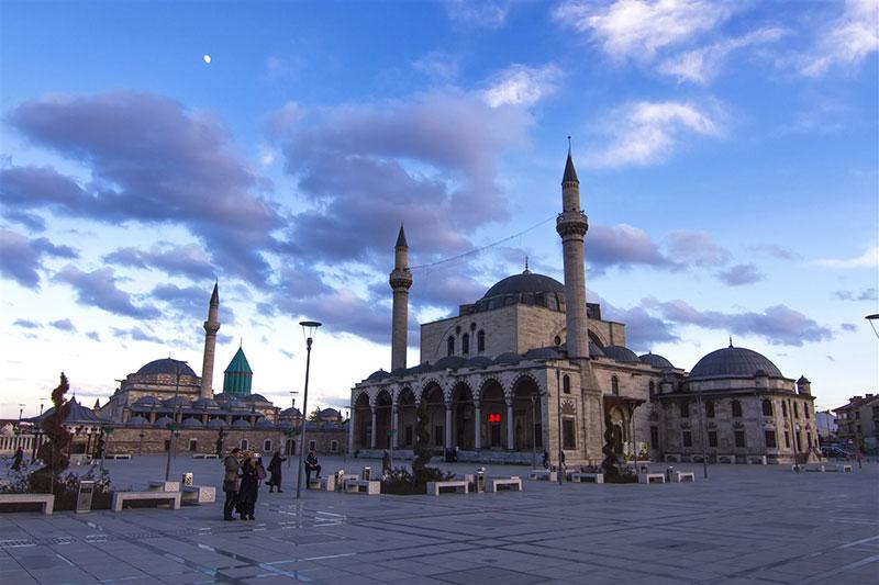 مسجد سلیمیه در قونیه