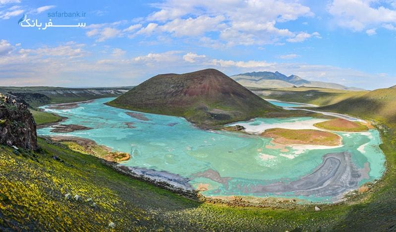 کاراپینار منطقه ای بسیار زیبا با چشمه هایی با آب های درمانی که دلیل سفر به قونیه را باعث شده است