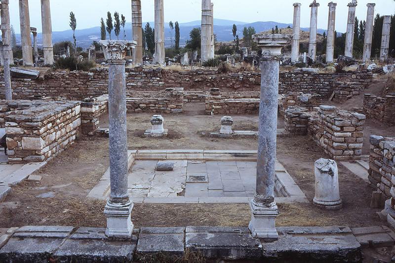 شهر آفرودیسیاس در کوش آداسی ترکیه