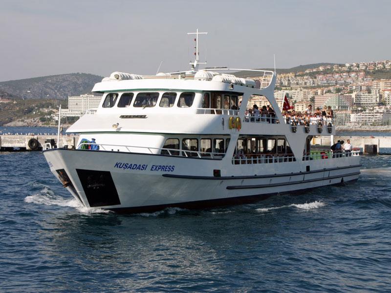 حمل و نقل در کوش آداسی ترکیه