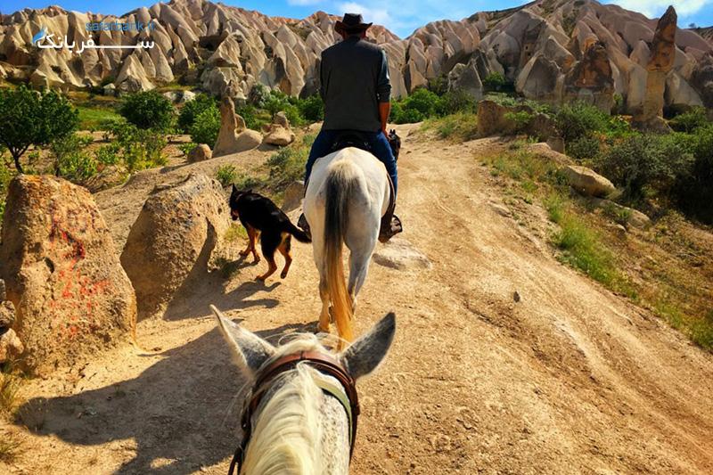 اسب سواری در کوش آداسی ترکیه
