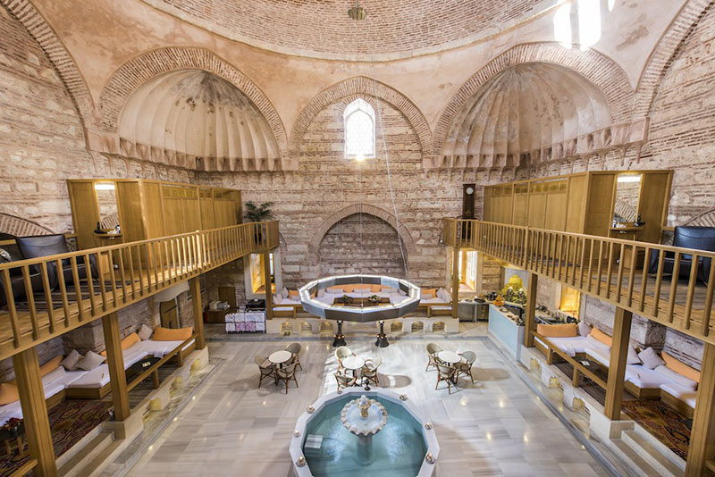 حمام ترکی در تور استانبول