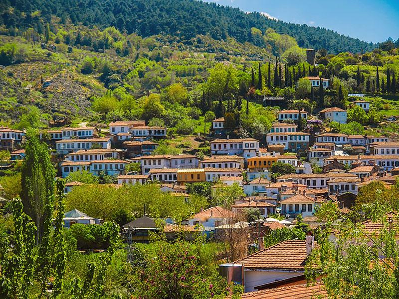 شیرینجه دهکده ای در ترکیه از جاهای دیدنی کوش آداسی