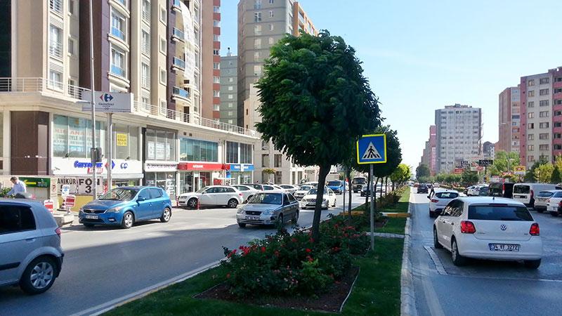 خیابان جمهوریت در وان ترکیه