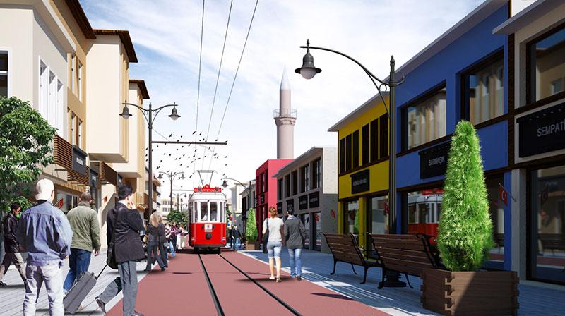خیابان جمهوریت در وان ترکیه برای خرید