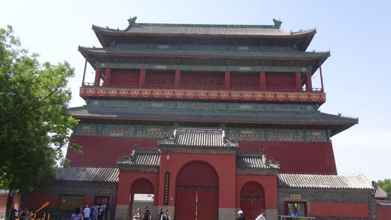 برج طبل و ناقوس در پکن چین