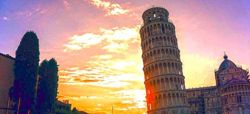 چرا برج پیزا کج است و چگونه تا به حال پابرجا مانده