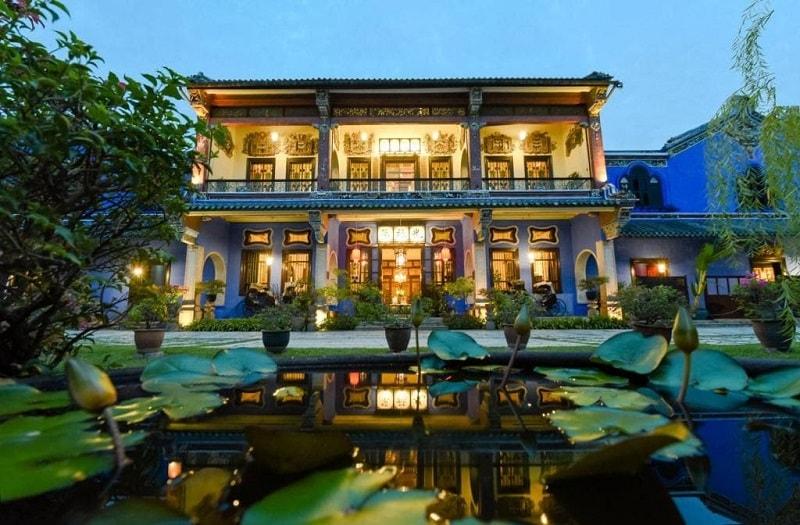 عمارت تاریخی چیونگ فات تز در پنانگ مالزی