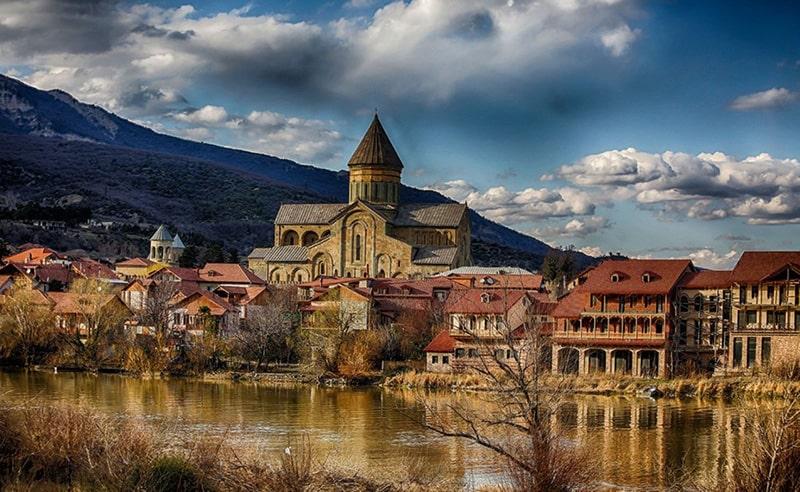 متسختا شهری باستانی در گرجستان