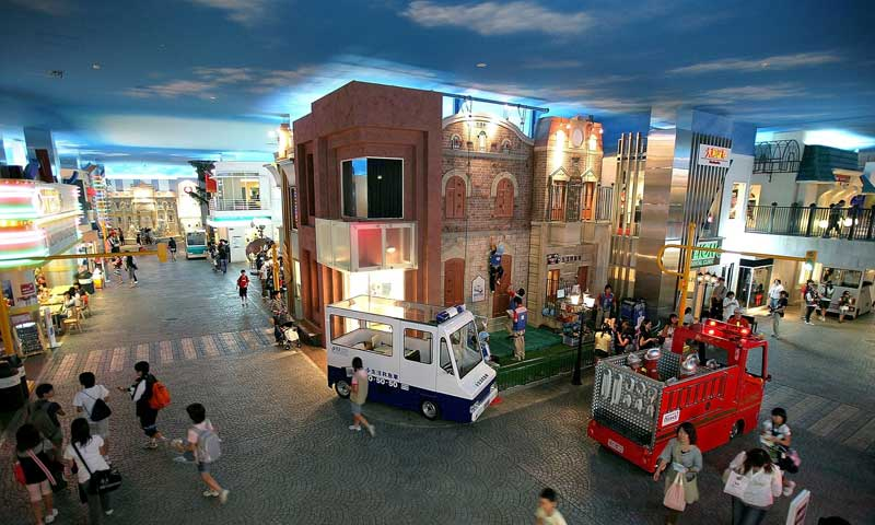کیدزانیا بانکوک دنیایی سرگرم کننده برای کودکان