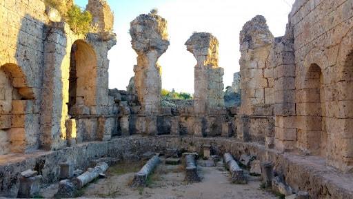 شهر پرگ آنتالیا شهری تاریخی - باستانی