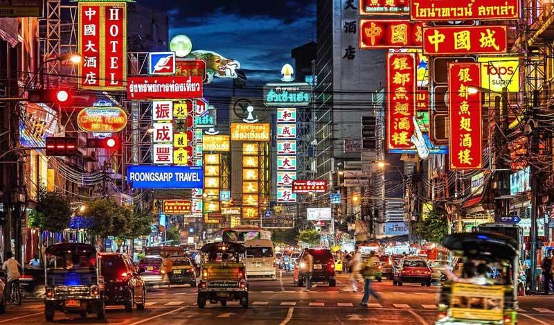 محله چینی ها منطقه ای جالب برای گشت و گذار