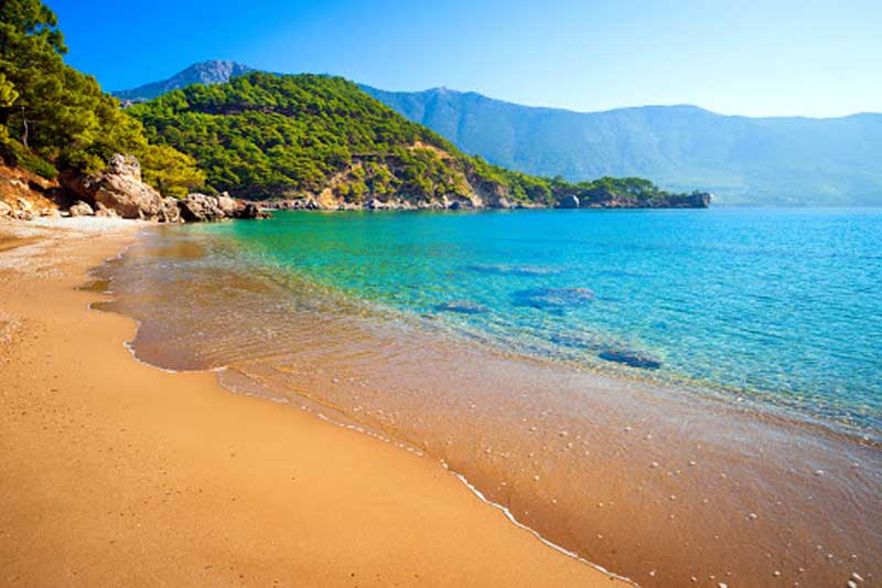 ساحل نور در آنتالیا