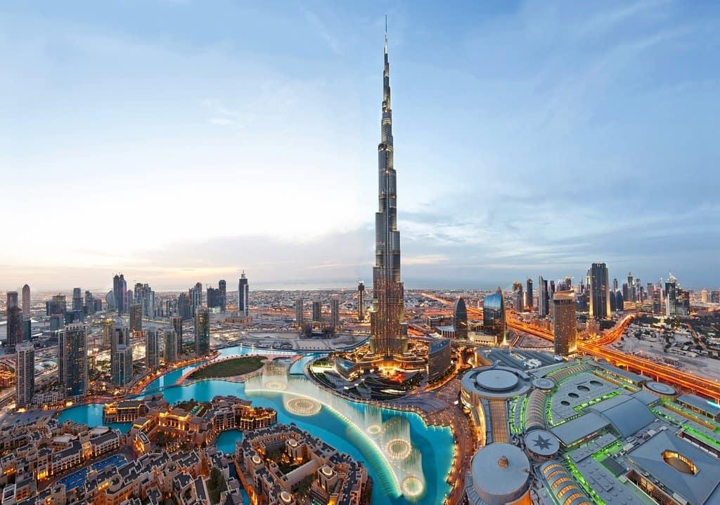 برج خلیفه یا برج دبی بلندترین ساختمان دنیا