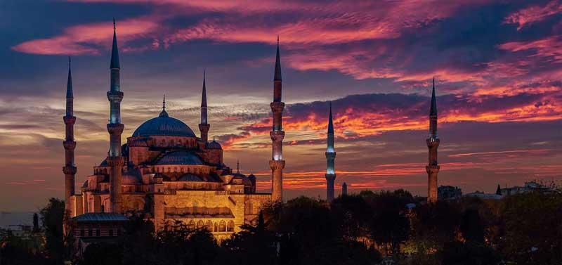 مسجد سلطان احمد، مسجدی باشکوه در استانبول