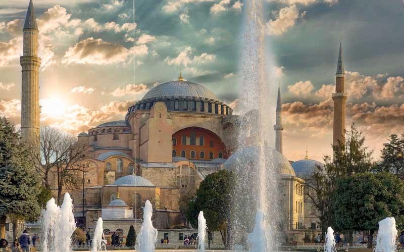 مسجد ایاصوفیه استانبول مهم ترین مسجد ترکیه