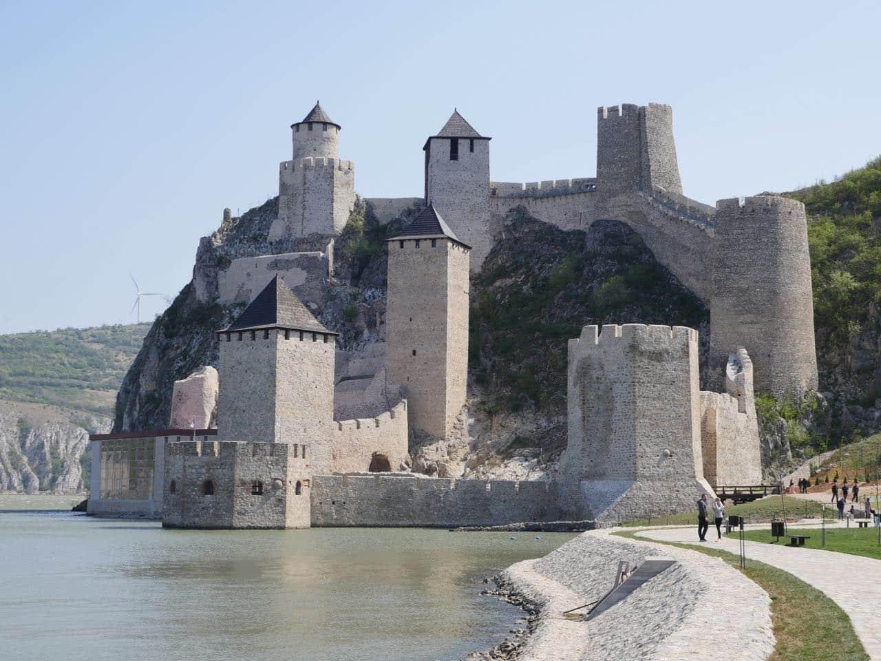 قلعه گلوباک در بلگراد زیبای سنگی رود دانوب