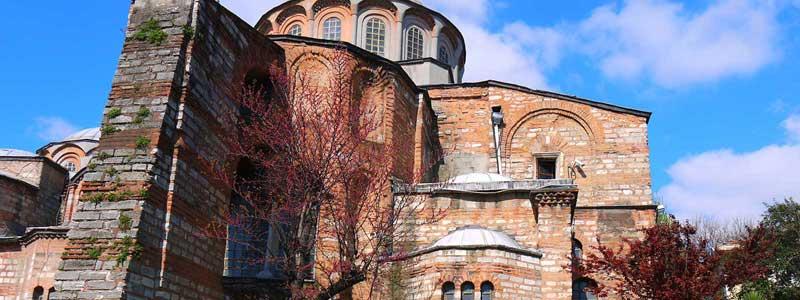 کلیسای چورا کلیسایی باستانی در قلب استانبول
