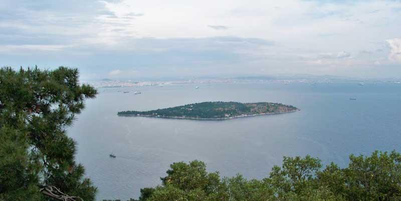 جزیره صدف جزیره کوچک باستانی