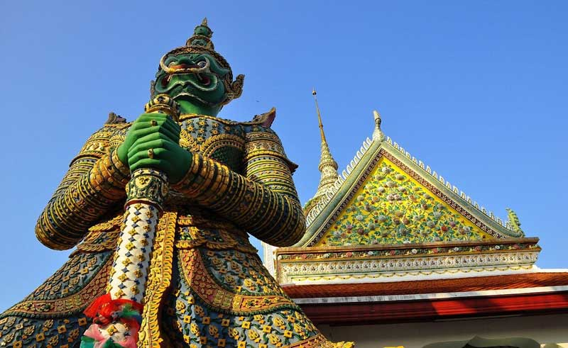 معبد پاتونگ یا سووان خیری وونگ در پوکت