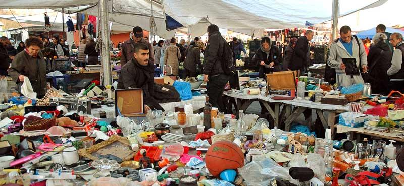 سه شنبه بازار و جمعه بازار استانبول