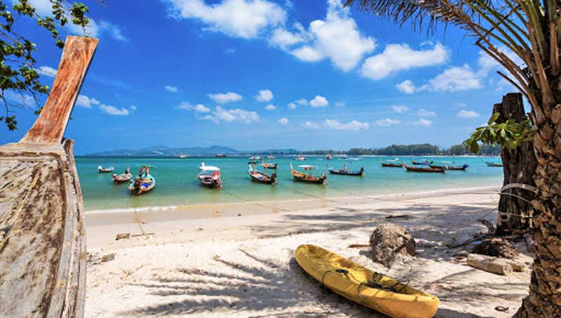بنگ تائو بیچ ساحلی با اقامتگاه های لوکس در پوکت
