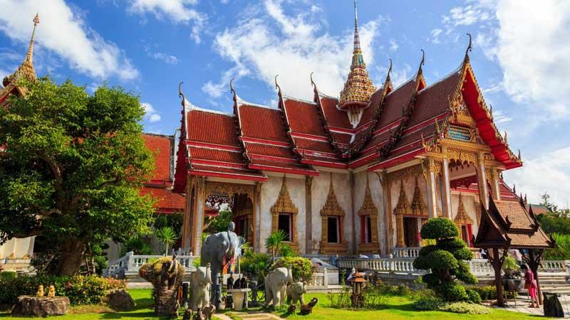 وات چالونگ معبدی با بیش از یک قرن قدمت