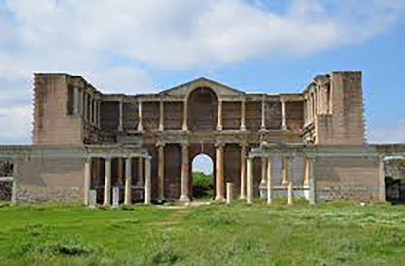 شهر باستانی سارد یا ساردیس در کوش آداسی