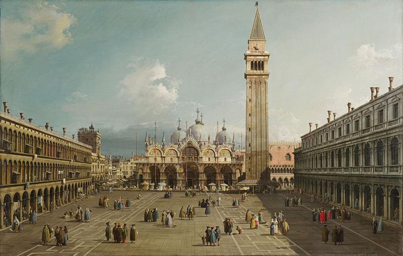 میدان سن مارکو در ونیز