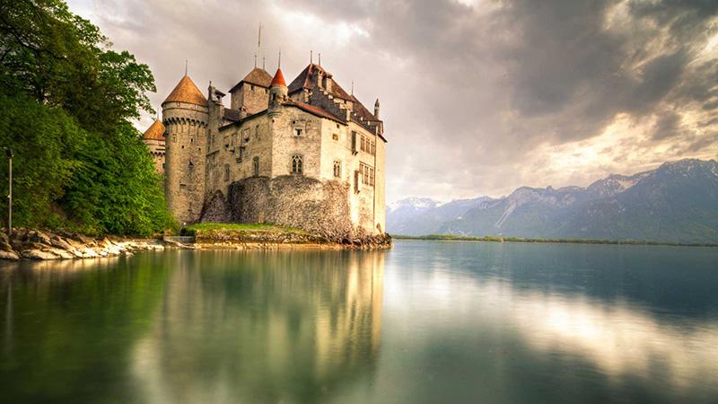 قلعه شیلون در ژنو پربازدیدترین دژ اروپا