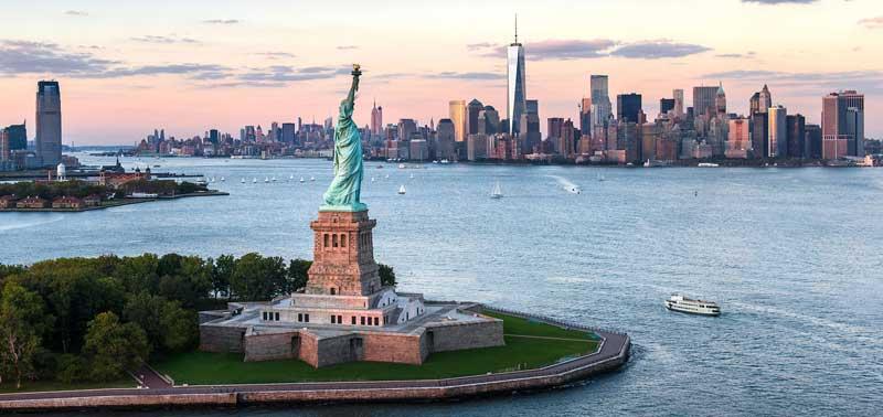 مجسمه آزادی کجاست - تندیس آزادی زیبای باشکوه!