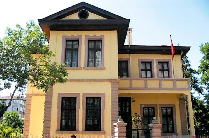 موزه خانه آتاتورک در شهر قونیه