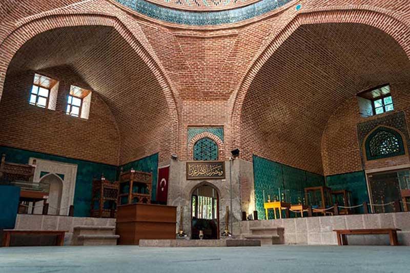 مسجد جامع و حوزه صاحب عطا در شهر قونیه